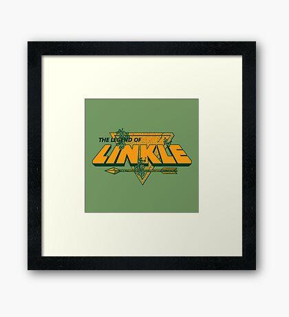 LEGEND OF LINKLE Framed Print