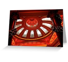 Dome and decorations Greeting Card