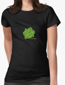 Lettuce Be Friends Womens Fitted T-Shirt