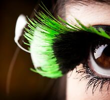 Green Lashes by Katherine Bogle