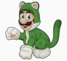 Cat Luigi by IndigoWildcat