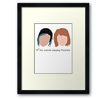 Shipping Pricefield: done!  Framed Print