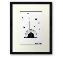Portal Radio Framed Print