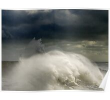 West Beach Wave Poster