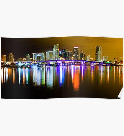 Miami the Magic City Poster