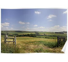 Summer Countryside Poster