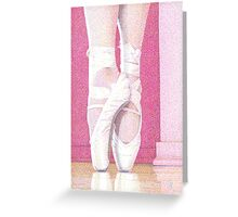 Jessy on Pointe, 2011 Greeting Card