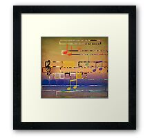I Have Music In My Heart Framed Print