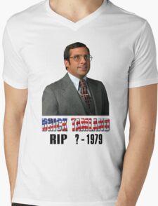 RIP Brick Tamland Mens V-Neck T-Shirt