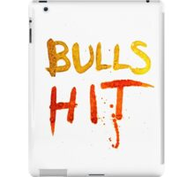 Bulls Hit iPad Case/Skin