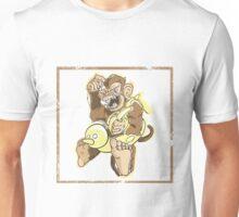 Baby Monkey in a Floaty Unisex T-Shirt