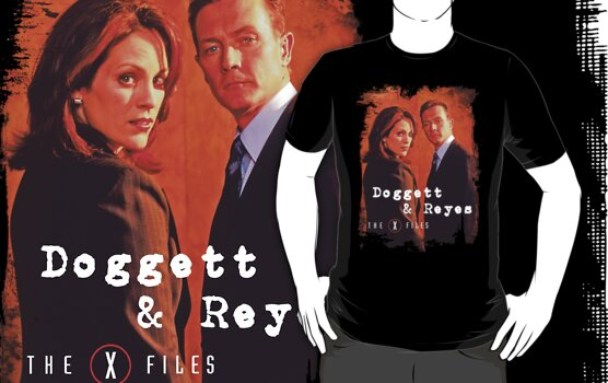 X Files Doggett & Reyes  by famedazed