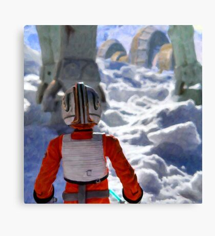 Luke Out Canvas Print