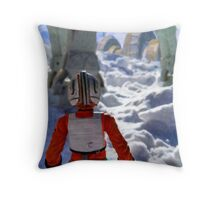 Luke Out Throw Pillow