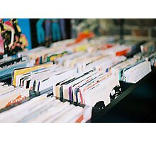 records Photographic Print
