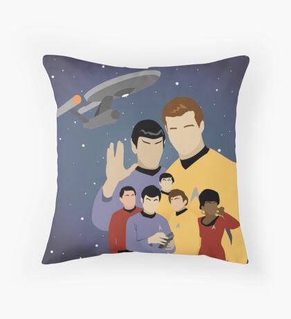 Star Trek Crew Throw Pillow
