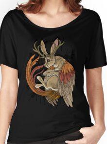 wolpertinger (black version) Women's Relaxed Fit T-Shirt