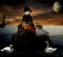 Good Night Moon... by Karen  Helgesen