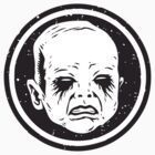 Black Metal Baby Sticker by cryface