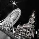 Bolton's big wheel (B&W) by Stephen Knowles