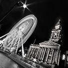 Bolton's big wheel (B&W) by Stephen Knowles