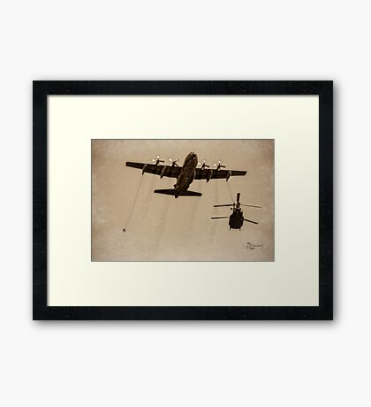 """""""Catch Me If You Can"""" Framed Print"""