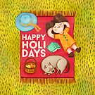 Happy Holidays by Laura  Wood
