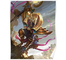 Azir, in the sands of Shurima Poster