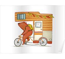 Runaway bear Poster