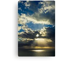 Super Sunrise Canvas Print