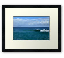 Natures' Beauty And Simplicity Framed Print