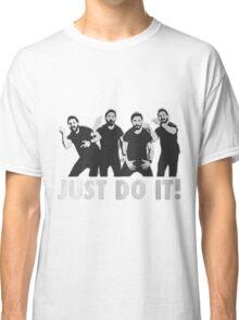 Shia Labeouf Just Do It / Motivational Speech Design Black & White Classic T-Shirt