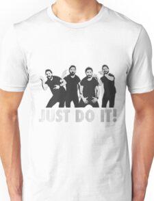 Shia Labeouf Just Do It / Motivational Speech Design Black & White Unisex T-Shirt