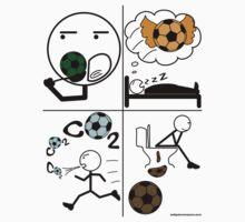 Eat Sleep Soccer by ZeitgeberEnzyme