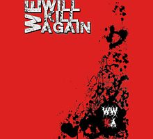 WWKA Blood Splatter Unisex T-Shirt