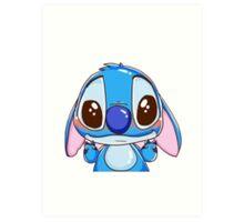 Stitch ^^ Art Print