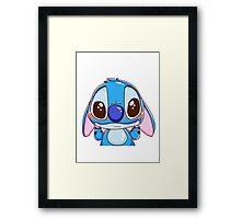 Stitch ^^ Framed Print