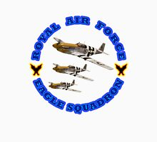 Royal Air Force Eagle Squadron Designer Tees & Stickers Men's Baseball ¾ T-Shirt