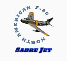 Sabre Jet Designer Tees and Stickers Unisex T-Shirt