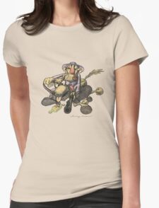 Cowboy Womens Fitted T-Shirt