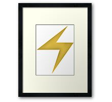 Ms.Marvel Symbol Framed Print