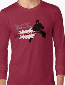 Poor Cyclops Long Sleeve T-Shirt