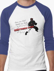 Poor Cyclops Men's Baseball ¾ T-Shirt