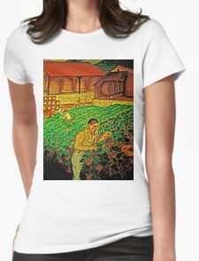 Quality Wine - Many Hands Womens Fitted T-Shirt
