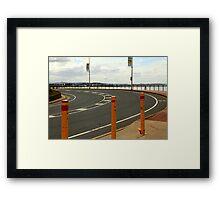 Kirra Bend Framed Print