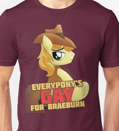 Gay for Braeburn Shirt (My Little Pony: Friendship is Magic) Unisex T-Shirt