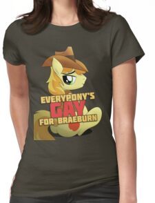 Gay for Braeburn Shirt (My Little Pony: Friendship is Magic) Womens Fitted T-Shirt