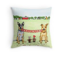 Valentine Sign, by Artwork by AK Throw Pillow