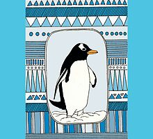 penguins are COOL phone case/ cards by KillerCupcake