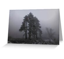 """""""Stormy Weather"""" Greeting Card"""